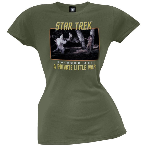 Star Trek - Private Little War Juniors T-Shirt