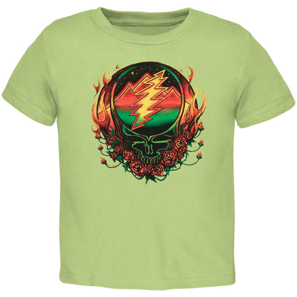 Grateful Dead - Scarlet Fire SYF Light Green Toddler T-Shirt