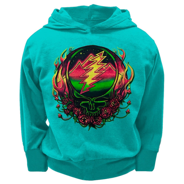 Grateful Dead - Scarlet SYF Light Blue Toddler Hoodie