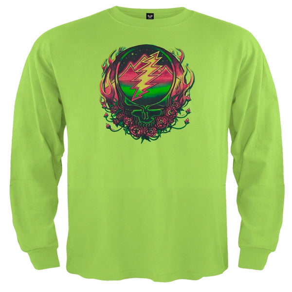 Grateful Dead - Scarlet SYF Light Green Toddler Long Sleeve T-Shirt