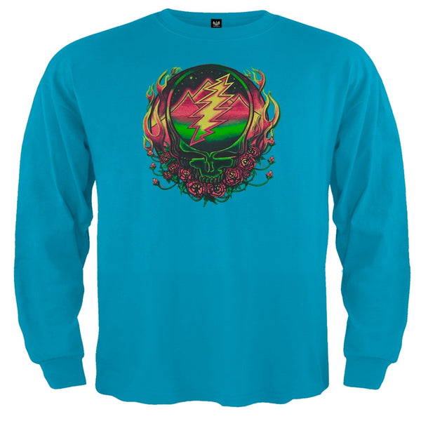 Grateful Dead - Scarlet SYF Blue Toddler Long Sleeve T-Shirt