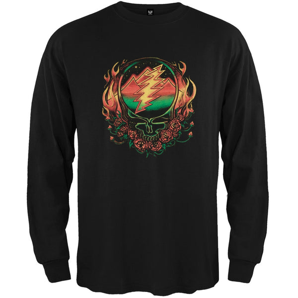 Grateful Dead - Scarlet SYF Black Youth Long Sleeve T-Shirt