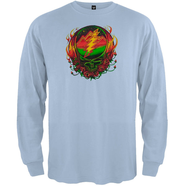 Grateful Dead - Scarlet SYF Light Blue Youth Long Sleeve T-Shirt