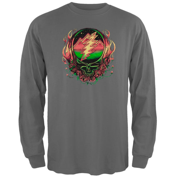 Grateful Dead - Scarlet SYF Grey Adult Long Sleeve T-Shirt