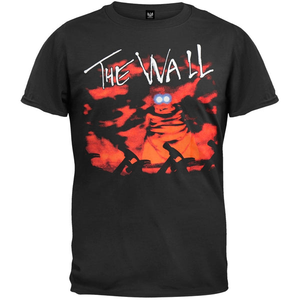 Pink Floyd - Outside The Wall Black T-Shirt