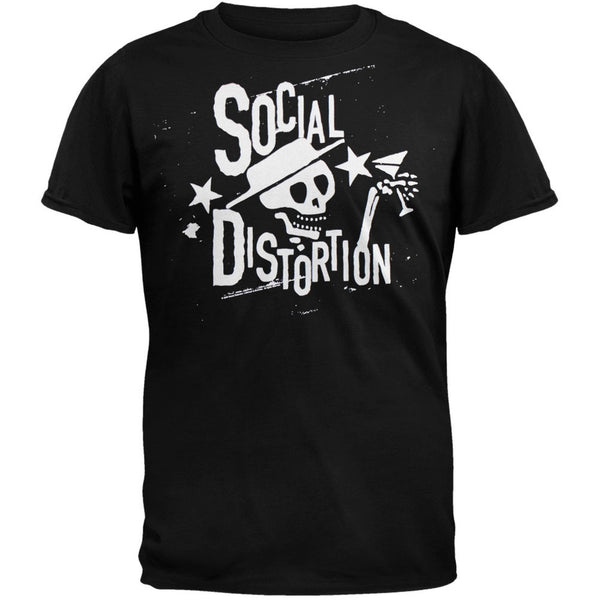 Social Distortion - Distressed Stars T-Shirt