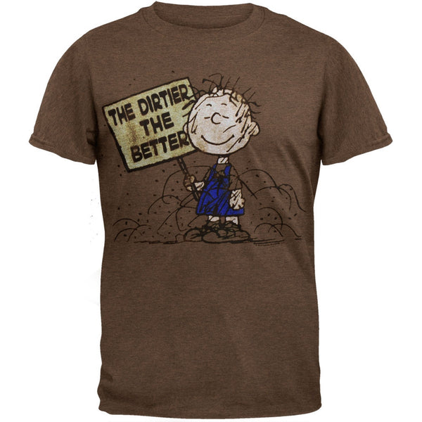 Peanuts - Dirtier The Better Soft T-Shirt