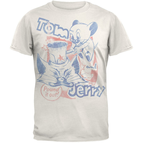Tom & Jerry - Pound It Out Soft T-Shirt