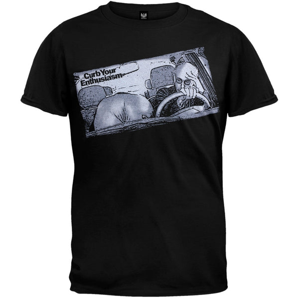 Curb Your Enthusiasm - Front Seat Soft T-Shirt