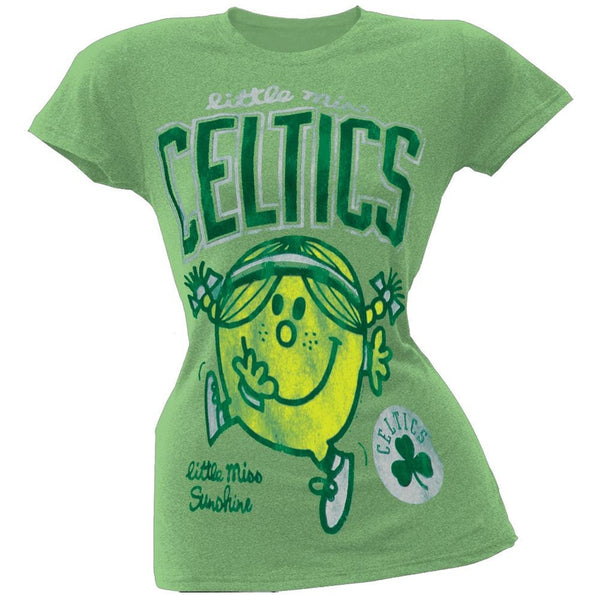 Little Miss NBA - Little Miss Celtics Juniors T-Shirt