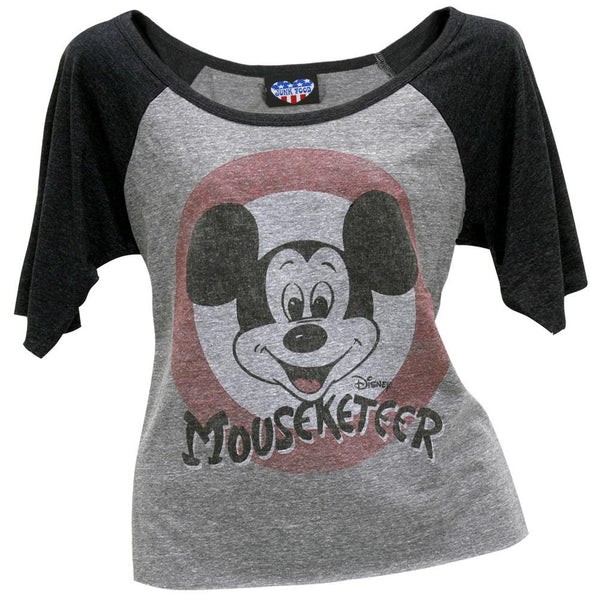 Mickey Mouse - Mouseketeer Juniors Raglan