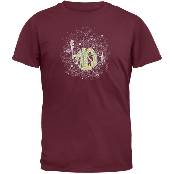 Phish - Logo in Spirograph Cloud Hydro T-Shirt