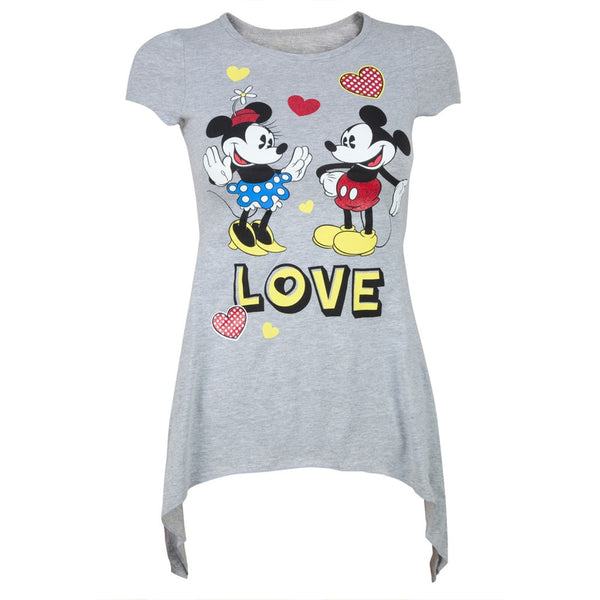 Disney - M Love Girls Youth Tunic T-Shirt