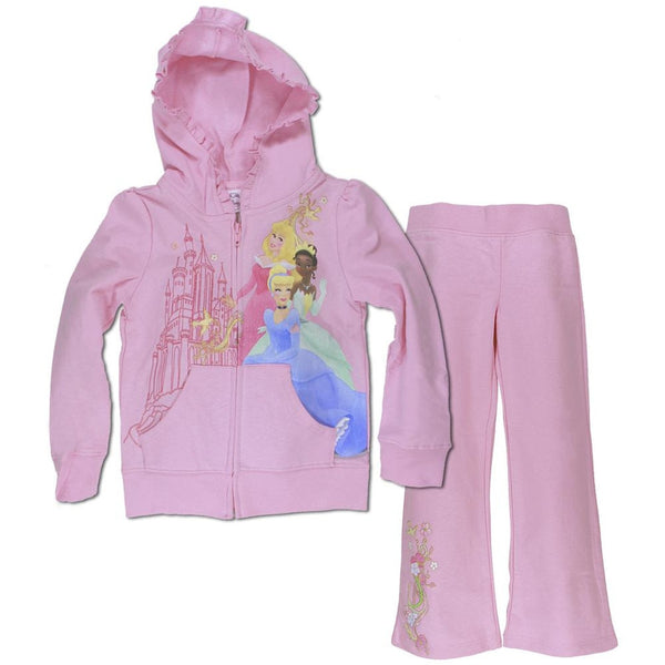 Disney Princesses - Castle Collage Girls Juvy Jogging Set