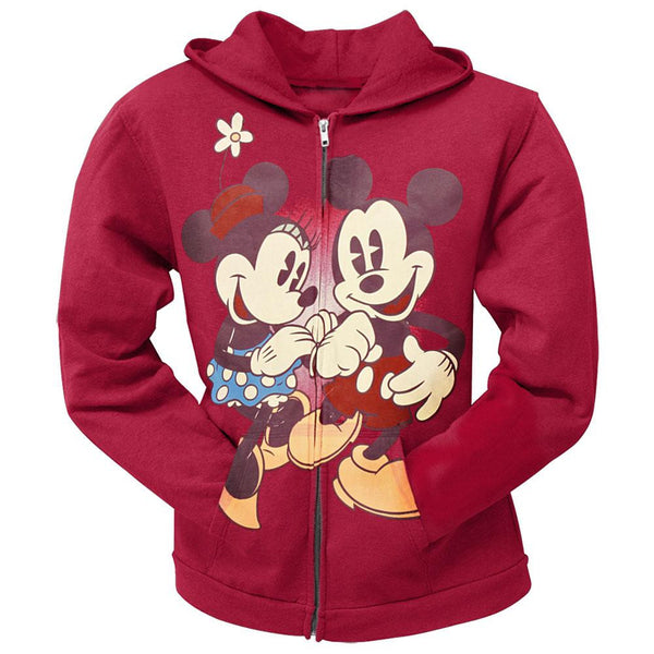 Disney - Holding Hands Juniors Zip Hoodie