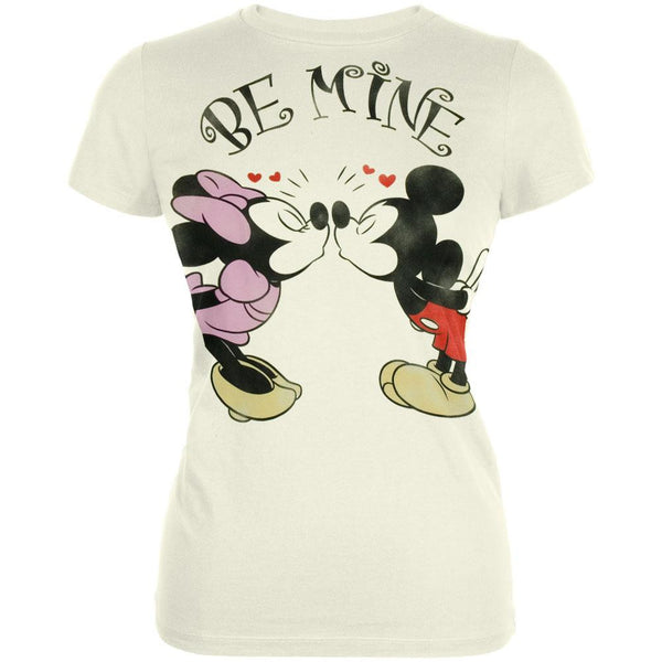 Mickey Mouse - Be Mine Juniors T-Shirt