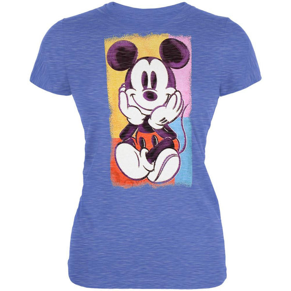 Mickey Mouse - Chalk Art Juniors T-Shirt