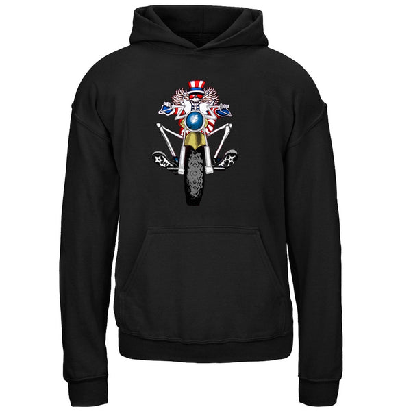 Grateful Dead - Psycle Sam Pullover Youth Black Hoodie