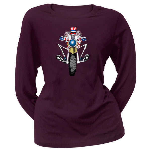 Grateful Dead - Psycle Sam Juniors Long Sleeve T-Shirt