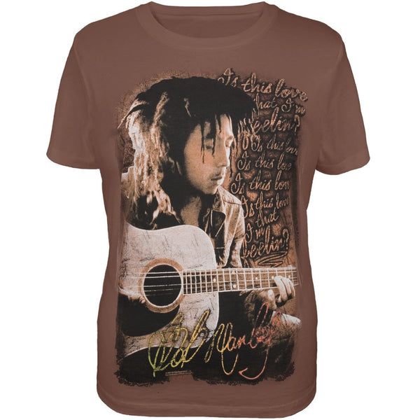 Bob Marley - Is This Love Women's Plus Size T-Shirt