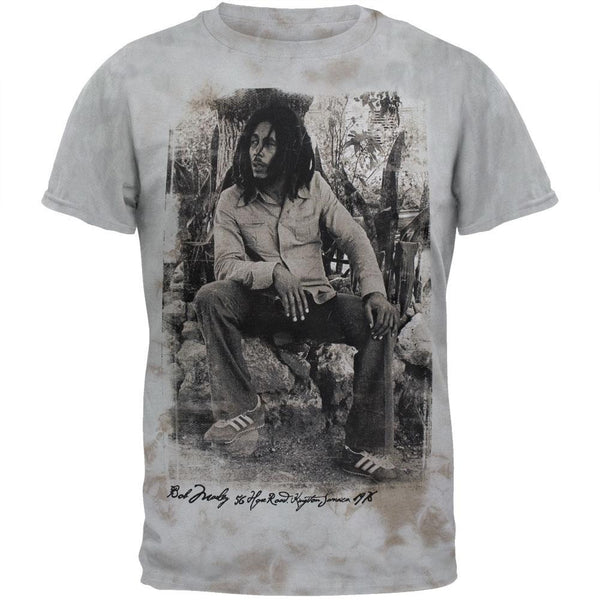 Bob Marley - Kingston Chemical Wash Soft T-Shirt