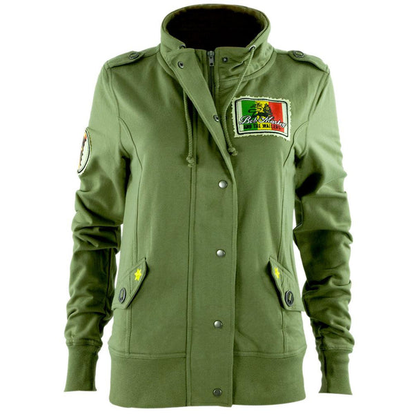 Bob Marley - Military Juniors Jacket