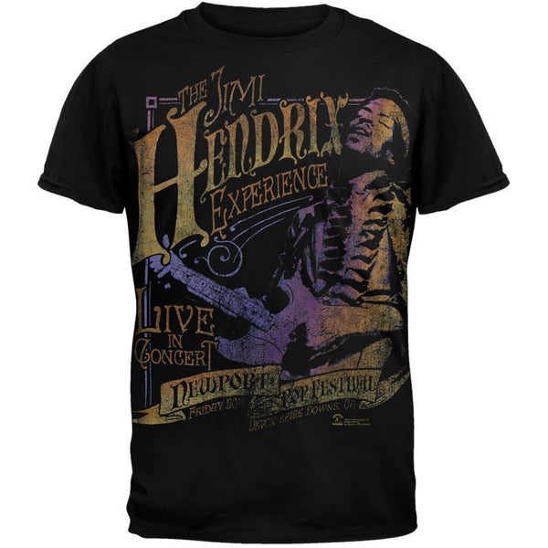 Jimi Hendrix - Newport Pop T-Shirt