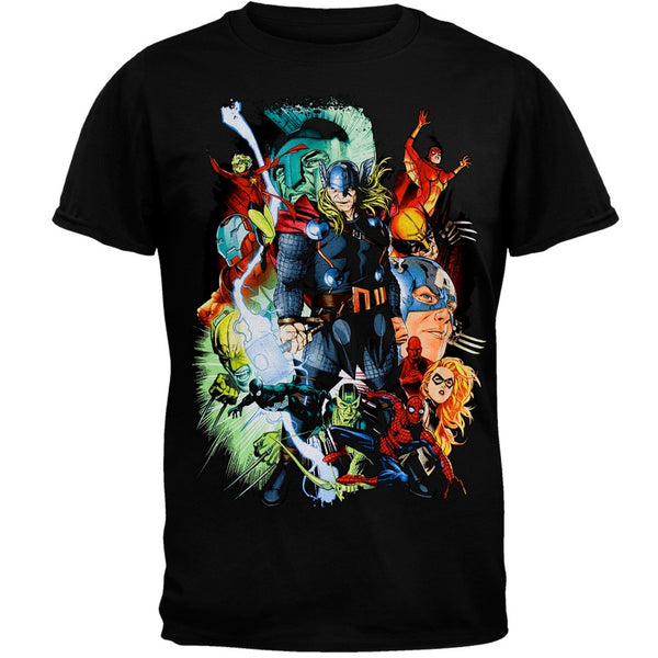 Marvel Heroes - Big Screen T-Shirt