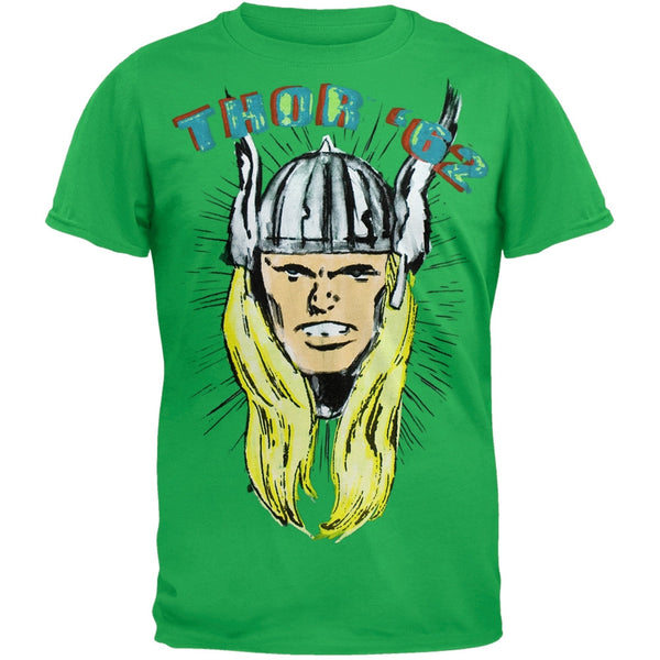 Thor - Head Of Thor Soft T-Shirt