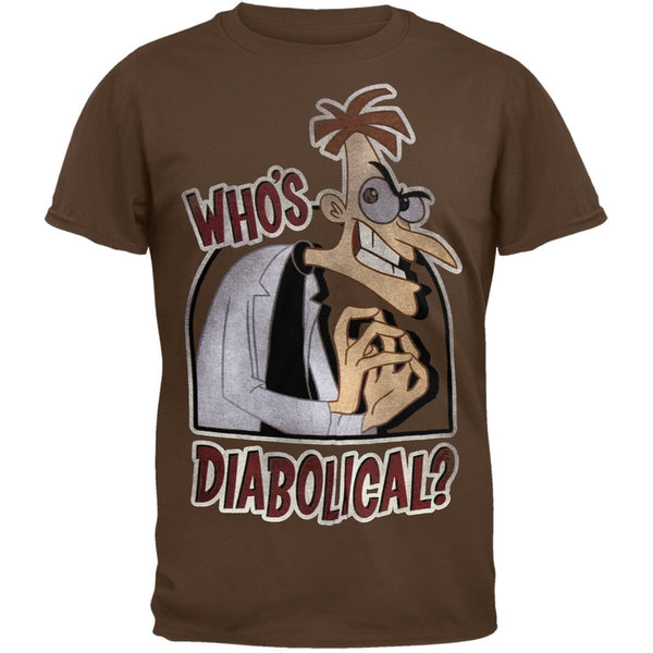 Phineas & Ferb - Who's Diabolical Soft T-Shirt