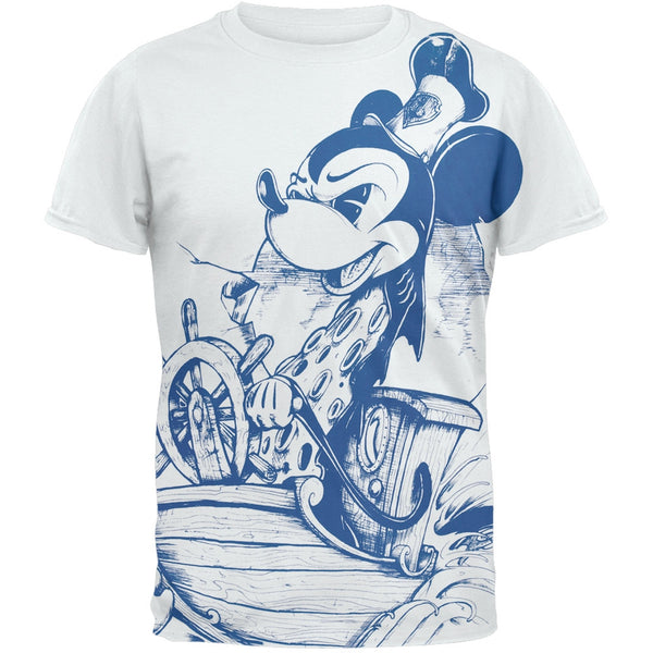 Mickey Mouse - Steam Boat Soft T-Shirt