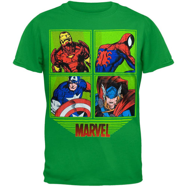 Marvel Heroes - Framed Characters Youth T-Shirt