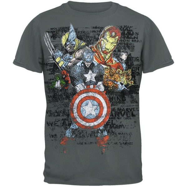 Marvel Heroes - We Are Marvel Youth T-Shirt