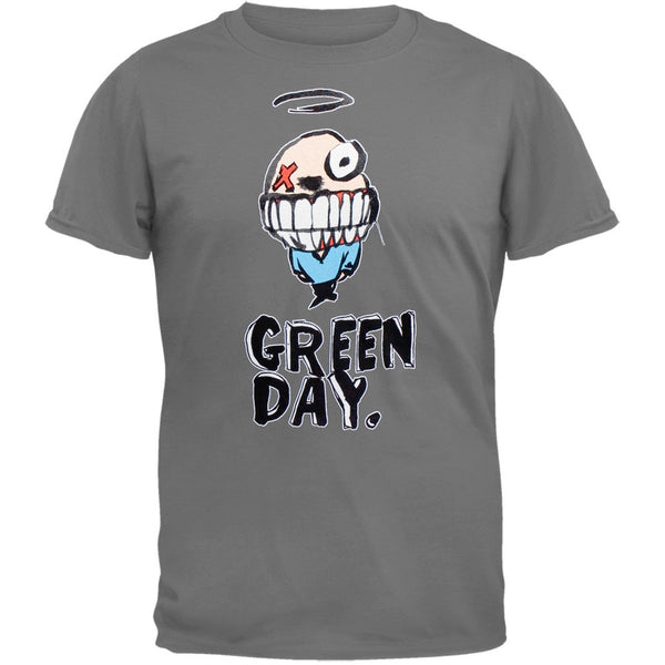 Green Day - Grin Grey T-Shirt