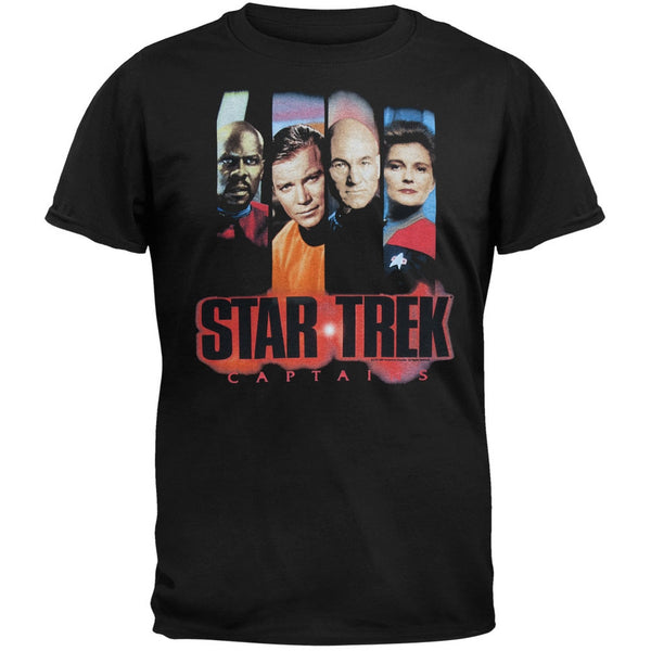 Star Trek - 4 Captains - T-Shirt