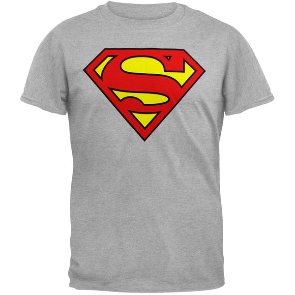 Superman - Shield Logo Heather T-Shirt
