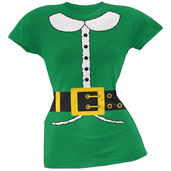 Holiday Elf Juniors Costume T-Shirt