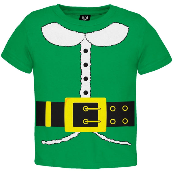Holiday Elf Costume Toddler T-Shirt