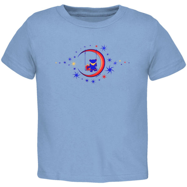 Grateful Dead - Moon Swing Blue Toddler T-Shirt