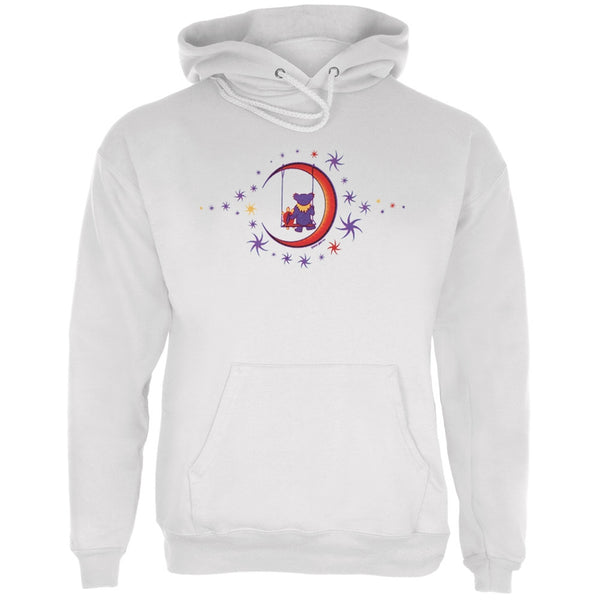 Grateful Dead - Moon Swing Pullover Hoodie White