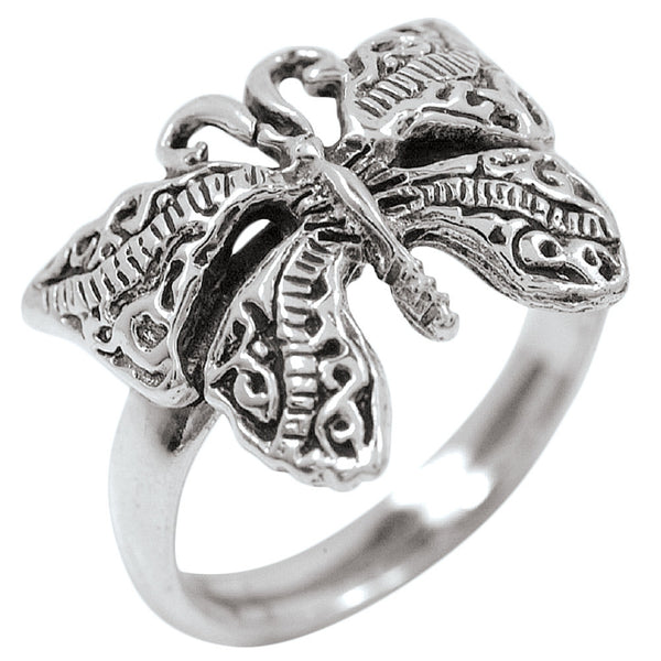 Beautiful Butterfly - Silver Ring