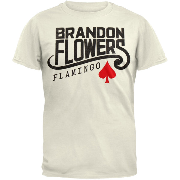 Brandon Flowers - Flamingo Soft T-Shirt