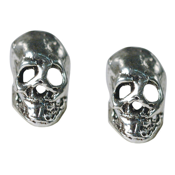 Stud Earrings - Small Skulls
