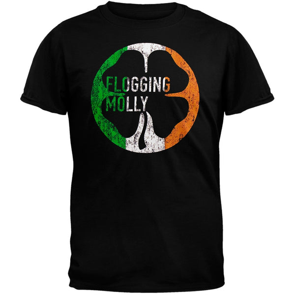Flogging Molly - Distressed Flag Soft T-Shirt
