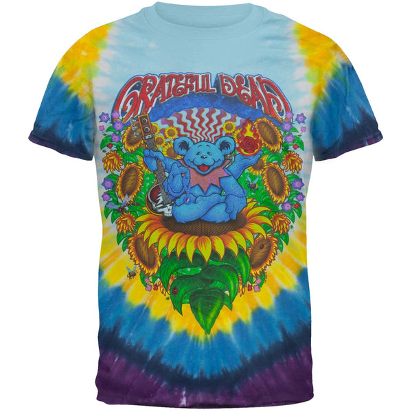 e4c644fe63f Grateful Dead - Guru Bear Tie Dye T-Shirt