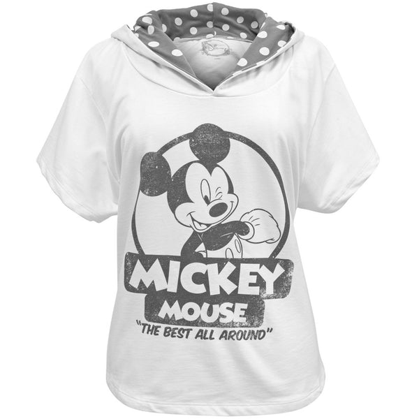 Mickey Mouse - The Best Juniors Hooded T-Shirt