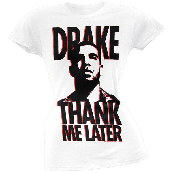 Drake - Thank Me Later Juniors T-Shirt