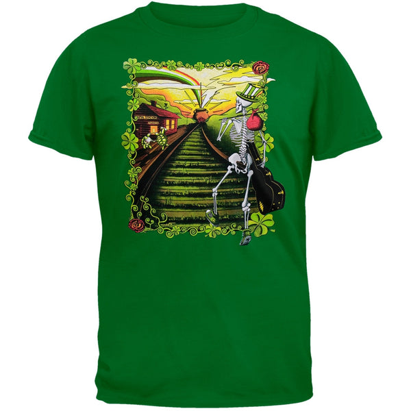 Grateful Dead - Lucky Sam Green T-Shirt