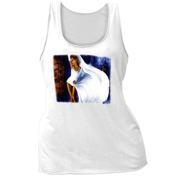 Beyonce - Silk Dress Juniors Tank Top