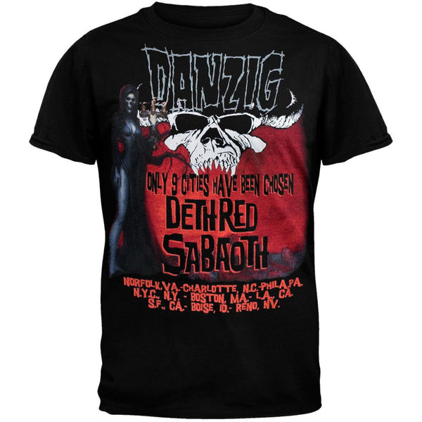 Danzig - 9 Cities Tour T-Shirt